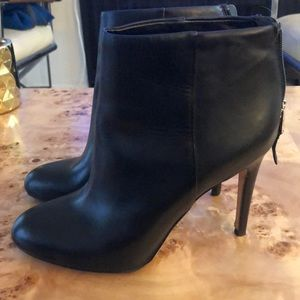 Sam Edelman black leather booties